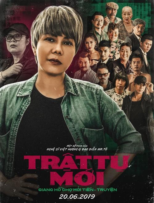 Poster web drama Trật tự mới.