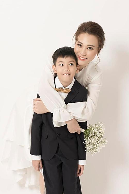 Đàm Thu Trang và Subeo.