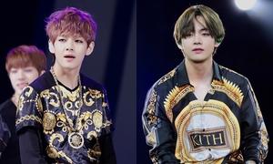 Hình ảnh thay đổi sau 6 năm của V (BTS) khiến fan xúc động