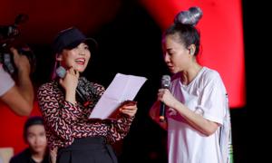 'Báu vật Hàn Quốc' tập nhạc lúc nửa đêm cùng Thu Minh