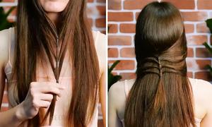 5 kiểu tóc đơn giản giúp 'đổi gió' cho các nàng bớt nhàm chán