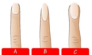 Trắc nghiệm: Hình dáng ngón trỏ tiết lộ bạn là ai