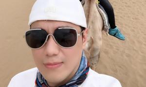 Việt Anh đi du lịch hậu ly hôn