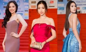 Dàn hoa hậu, á hậu 'váy áo là lượt' trên thảm đỏ