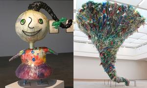 'Hành tinh nhựa': Khi rác thải nhựa biến thành tác phẩm nghệ thuật