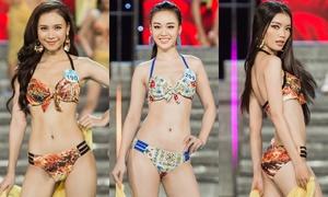 Top 23 Miss World Việt Nam khu vực phía Nam trình diễn bikini