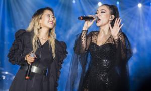 Thu Minh bị nghi ngờ 'dìm' diva Hàn Quốc khi song ca