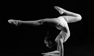 Mẫu nhí gốc Việt khoe dáng trong bộ ảnh thể dục nghệ thuật