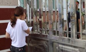 Một thí sinh ở Hà Giang không được dự thi vì... ngủ quên