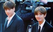 Vẻ ngoài như anh em sinh đôi của V - Jung Kook