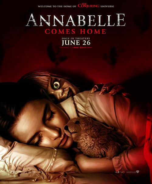 Annabelle Comes Home chính thức trình làng vào 26/6.