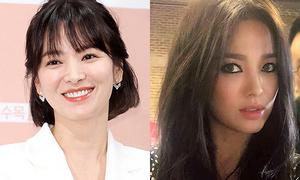Song Hye Kyo bị chê khi đổi từ makeup 'sương sương' sang cá tính