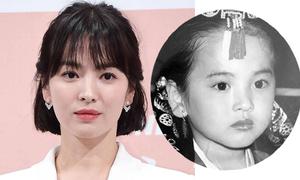 Nhan sắc Song Hye Kyo qua thời gian