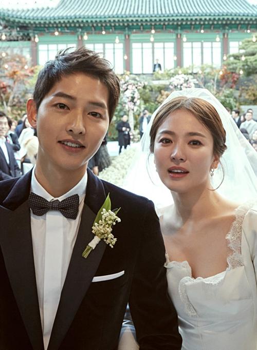 Song Joong Ki và Song Hye Kyo.