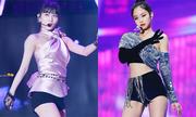 Sao Hàn khoe chân với trang phục 'không thể ngắn hơn'