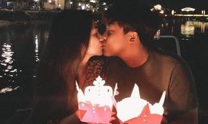 Hòa Minzy gọi 'chồng yêu', thú nhận hay ghen trong sinh nhật bạn trai