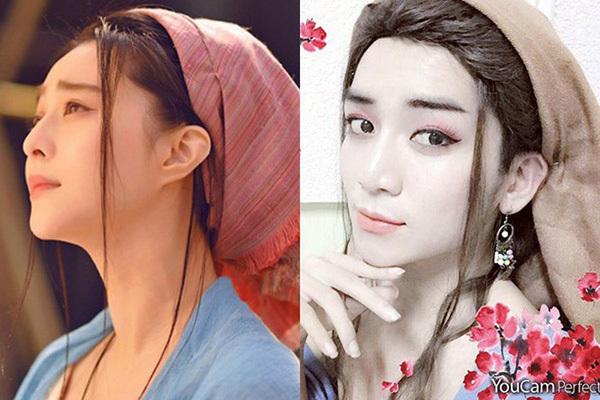 BB Trần cũng từng thử lối makeup sương sương kiểu Phạm Băng Băng.