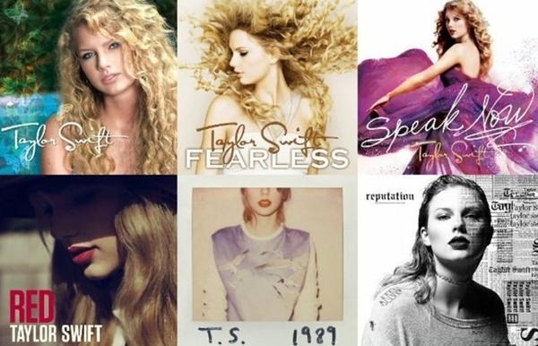 6 album cũ của Taylor Swift giờ đã là tài sản của Scooter Braun.