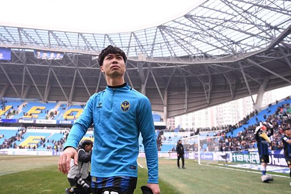 Công Phượng vừa chấm dứt hợp đồng với Incheon United.