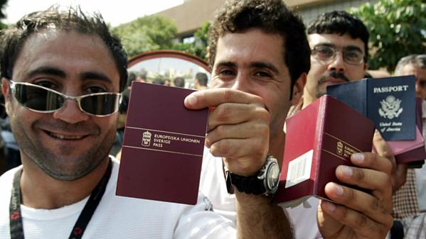 Công dân Thụy Điển (ảnh), Pháp và tây Ban Nha có thể tận hưởng chuyến du lịch mà không cần visa tới 185 điểm đến.