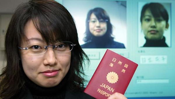 Hộ chiếu Nhật Bản. Ảnh: AFP.