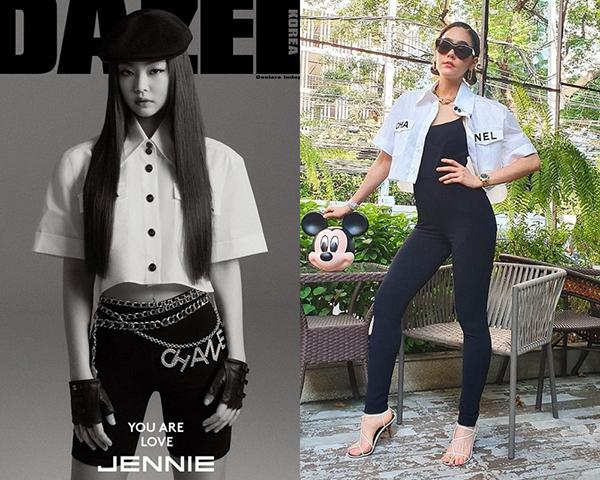 Không chỉ được Jennie yêu thích, chiếc áo