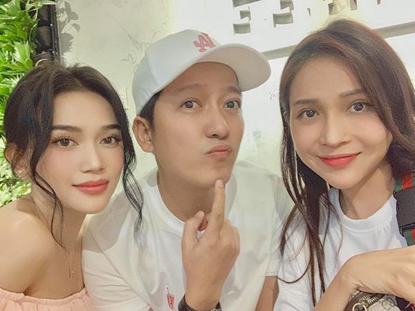 Trường Giang hội ngộ hai cô em thân thiết Sĩ Thanh, Khả Như.