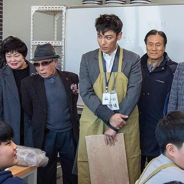 Đến tháng 1/2018,anh nhập ngũ lần thứ haivới tư cách nhân viên xã hội phục vụ cộng đồng tại quậnYongsang.