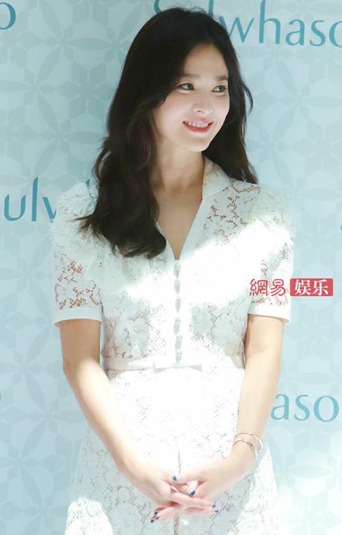 Song Hye Kyo xuất hiện sau tin ly hôn.