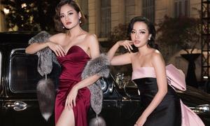 Mỹ nhân Việt khoe vẻ gợi cảm với phong cách quý tộc