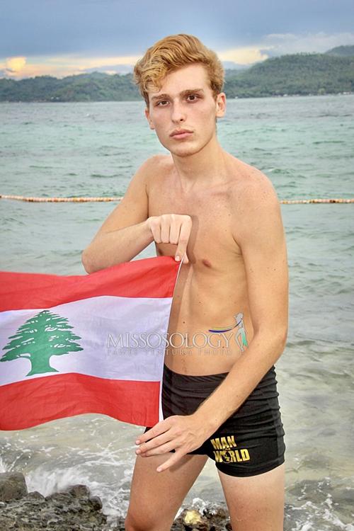 Hình thể kém săn chắc của đại diện Lebanon.