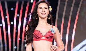 Bạn gái Trọng Đại bị loại sớm trong lần thứ sáu thi hoa hậu