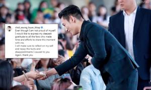 T.O.P gây xúc động với bức thư gửi fan trên Instagram