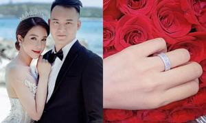 Những mỹ nhân Việt được cầu hôn bằng nhẫn kim cương