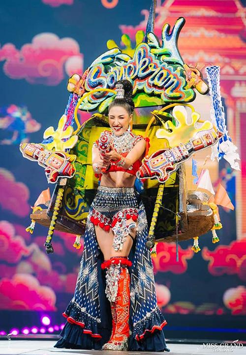 Trang phục dân tộc độc đáo của thí sinh Miss Grand Thailand 2019 - 8