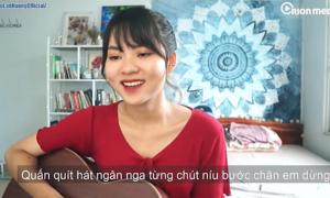 Hot girl cover 'Hãy trao cho anh' hút triệu view: 'Mình thần tượng Sơn Tùng từ lâu'