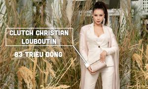 Trà Ngọc Hằng chi gần 120 triệu đồng cho một lần đi xem thời trang