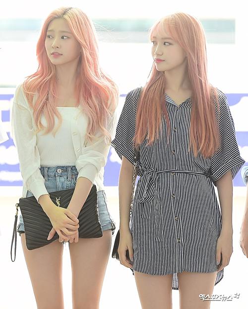 BTS Twice IZONE sân bay - 17