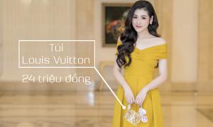 Bóc giá: Set đồ đi tiệc hơn 60 triệu đồng của Á hậu Tú Anh