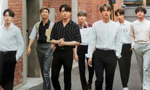 BTS, EXO, Winner dẫn đầu top boygroup hot nhất tháng 7