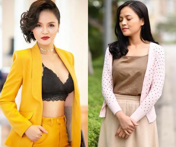 Phong cách khác biệt của Thu Quỳnh trong Quỳnh búp bê và Về nhà đi con.