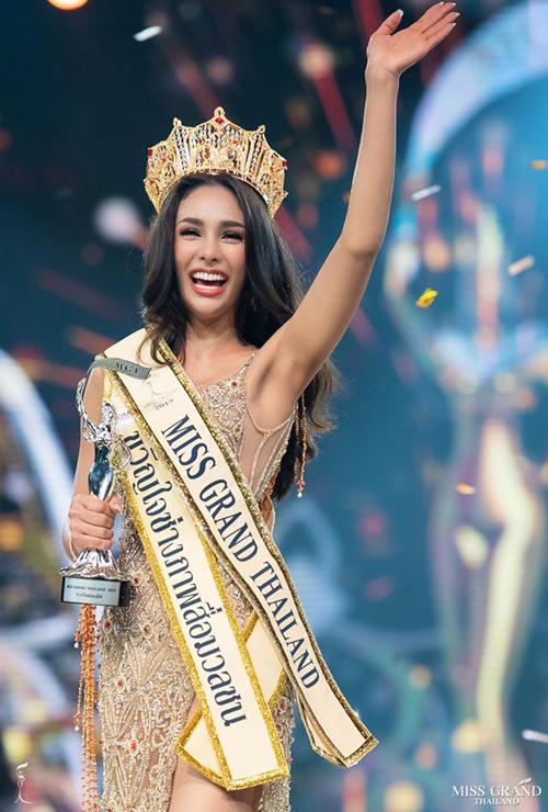 Nhan sắc Miss Grand Thailand 2019.