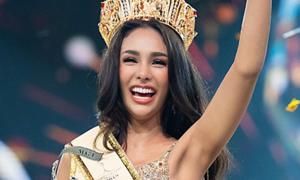 Tân Hoa hậu Hòa bình Thái Lan bị chỉ trích 'xấu tính' vẫn đăng quang