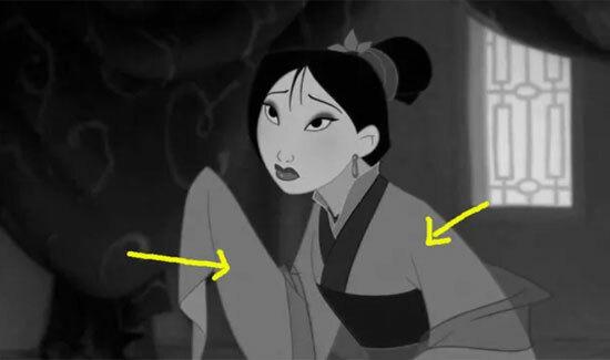 Màu sắc váy áo của công chúa Disney có làm khó bạn? - 9