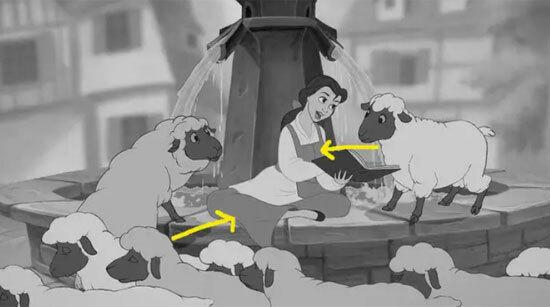 Màu sắc váy áo của công chúa Disney có làm khó bạn? - 4