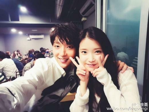 IU và Lee Jun Ki được nhiều fan ủng hộ vì đẹp đôi.