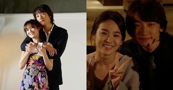 Đóng cặp quá ăn ý và đẹp đôi, Rain và Song Hye Kyo có tin đồn phim giả tình thật.