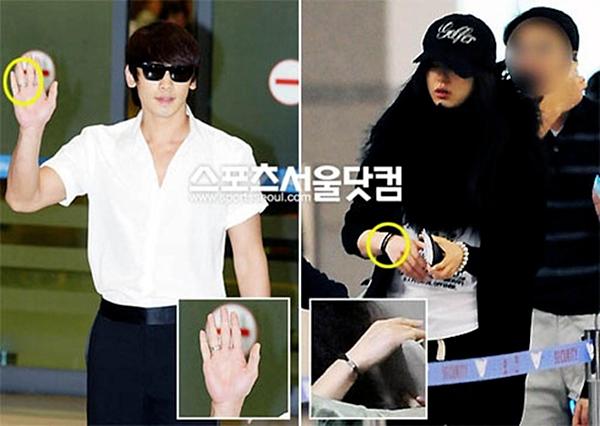 Rain từng có tin đồn tình cảm với Jun Ji Hyun.