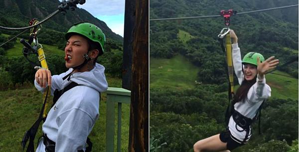 G-Dragon và Lee Joo Yeon có nhiều bức ảnh check-in ở cùng địa điểm.