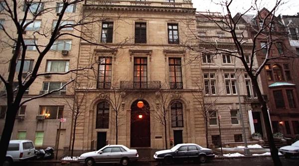 Biệt thự của Epstein ở Manhattan.